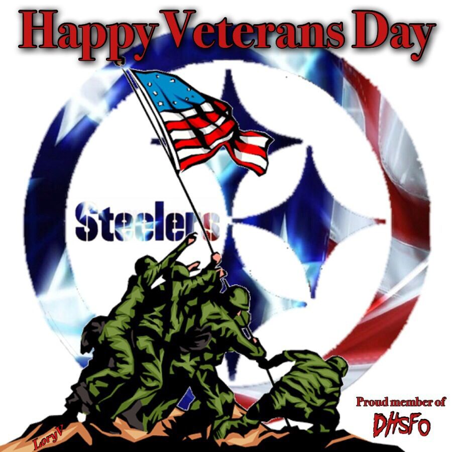 the latest c7583 d3a59 Veterans Day | Pittsburgh Steelers | Steelers football ...