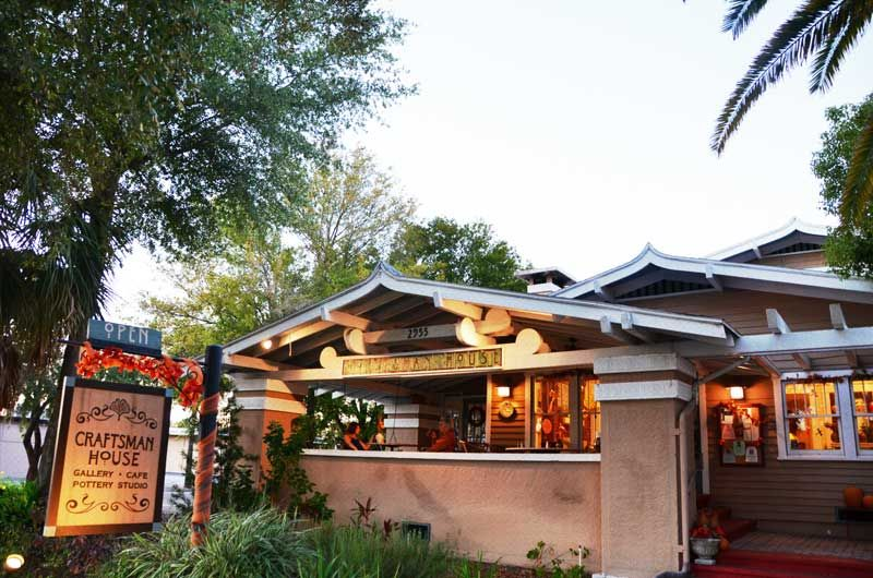 Craftsman House Gallery And Cafe