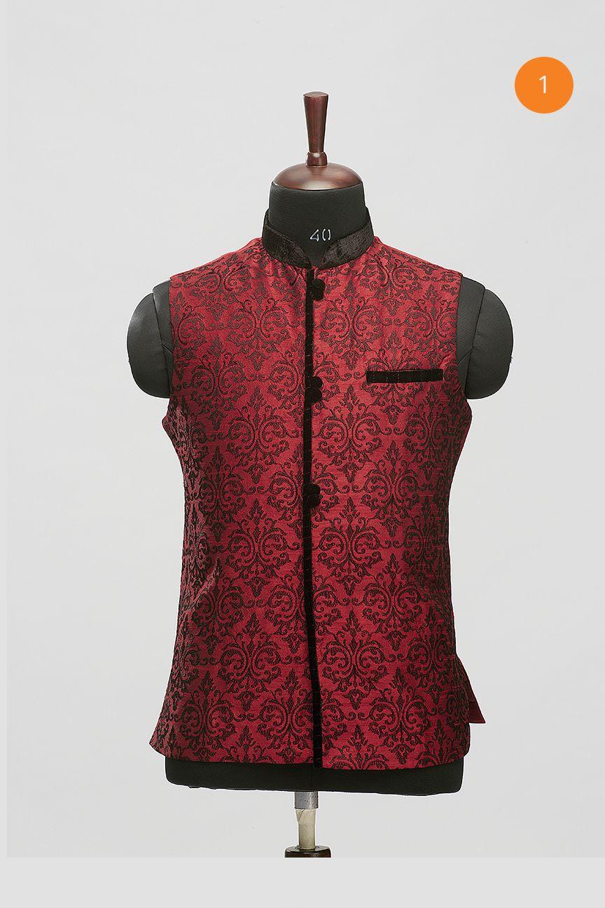 Manyavar Stylish Black Nehru Jacket | Arab men fashion ...