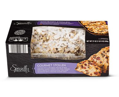 Specially Selected Gourmet Stollen From Aldi Grocery Ads