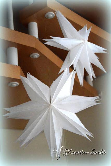 Butterbrott ten stern kreativ sucht weihnachten pinterest - Selbstgemachte weihnachtsdeko ...