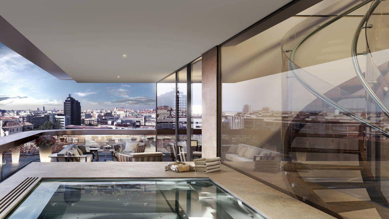 Estos son los áticos más lujosos de Madrid que nunca