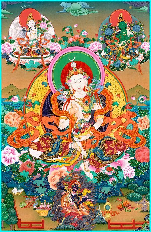 Богиня Лхамо Фото