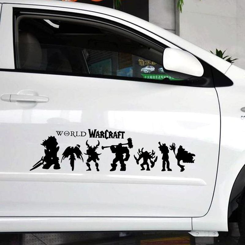 World of warcraft car vinyl tag a friend who would love this free shipping worldwide dota dota2 cosplay gaming get it here