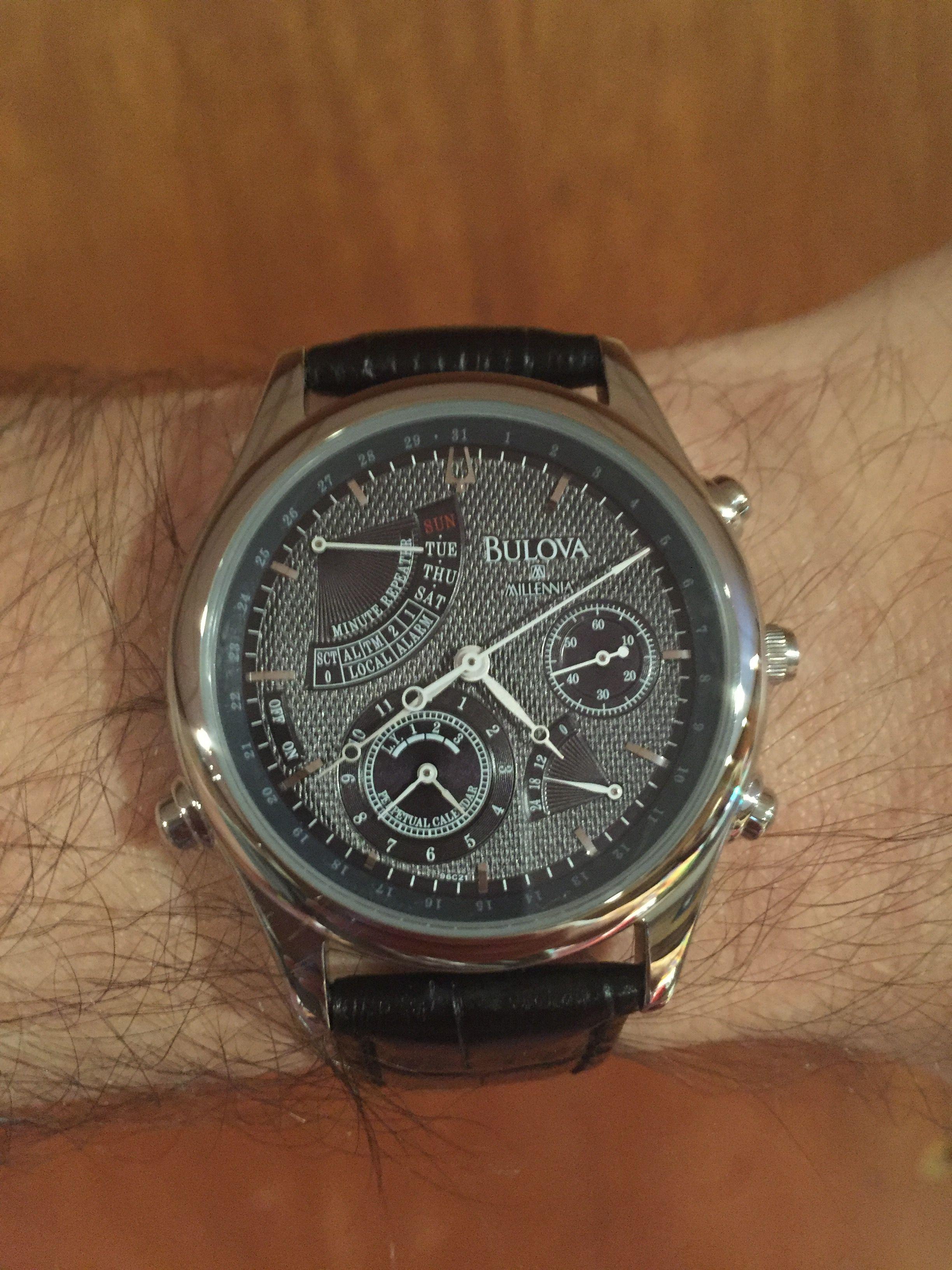 Bulova Millennia - Perpetual Calendar Minute Repeater