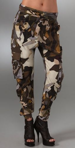 L A M B Camo Cargo Pants - Stylehive