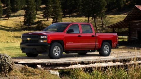 Build Your Own Pickup Truck 2015 Silverado 1500 Chevrolet