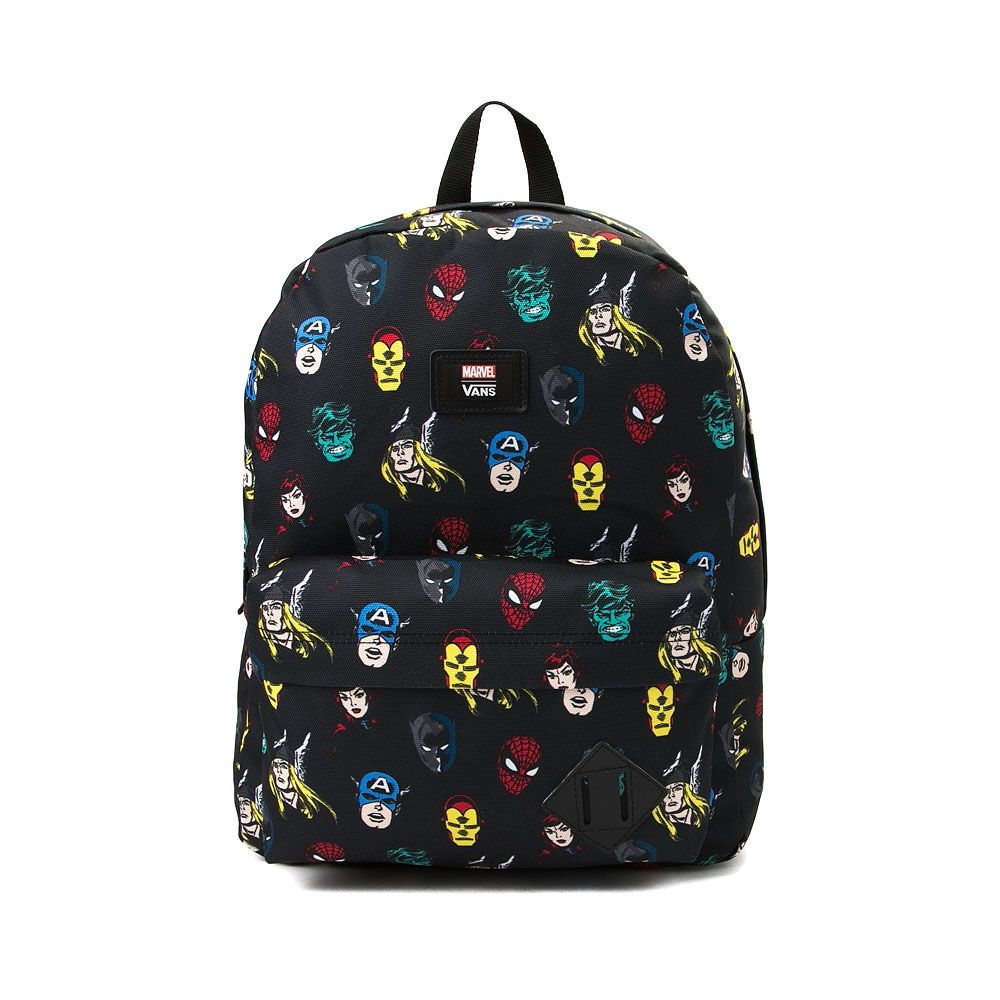 Vans Old Skool Marvel Avengers Backpack in 2019 | Wish List | Marvel ...