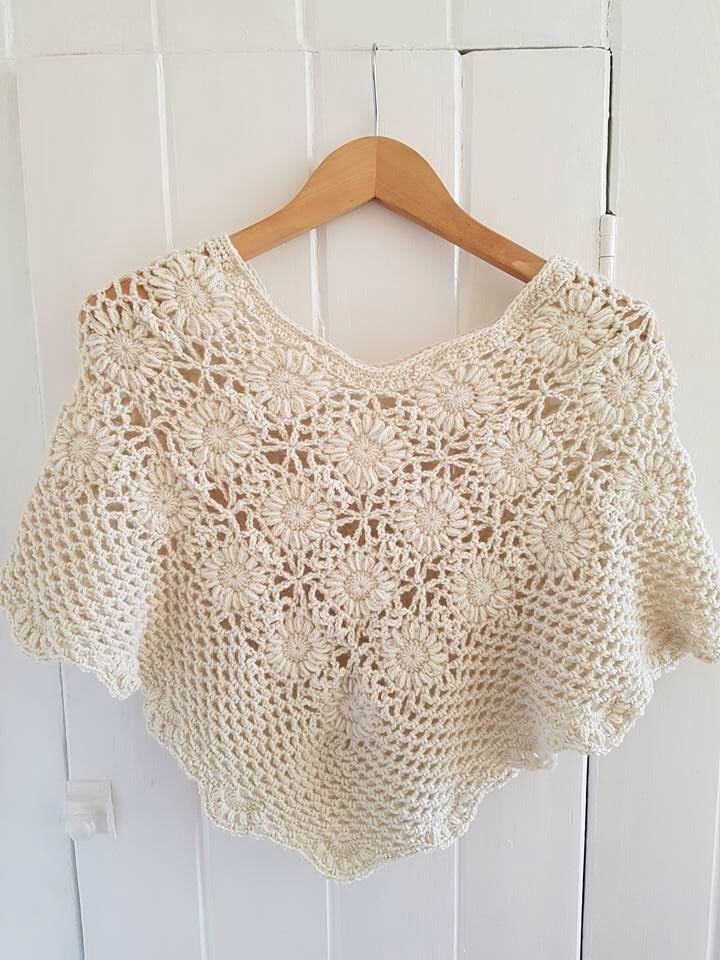 Vintage Lace Shawl - Intermediate Crochet Pattern | Pinterest