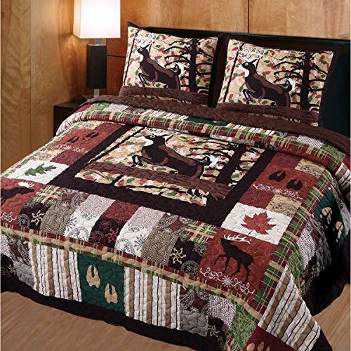 Quilt Sets Bedding, Mountain Lodge Bedding