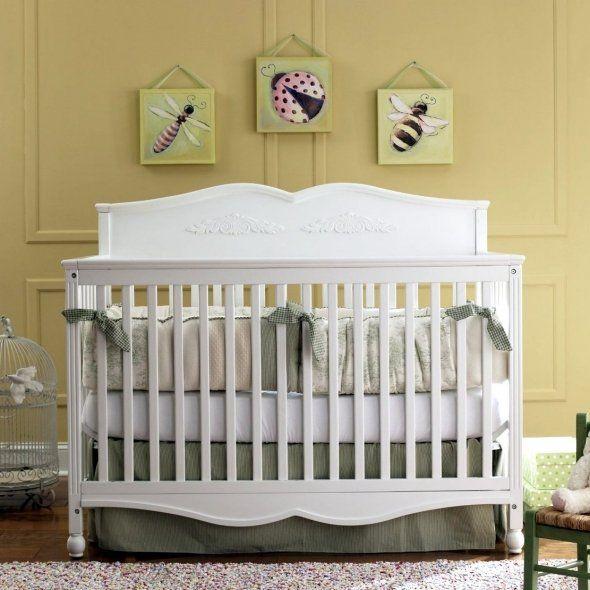 DaVinci Jayden 4-in-1 Convertible Crib black | Graco Victoria Non ...