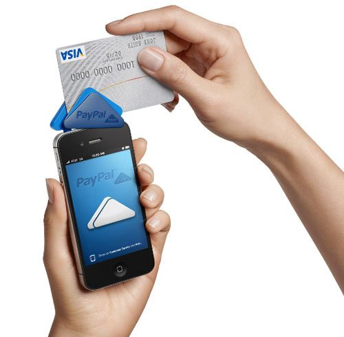 Paypal Here Mobile Credit Card Reader Mobile Credit Card Credit Card Readers Mobile Payments
