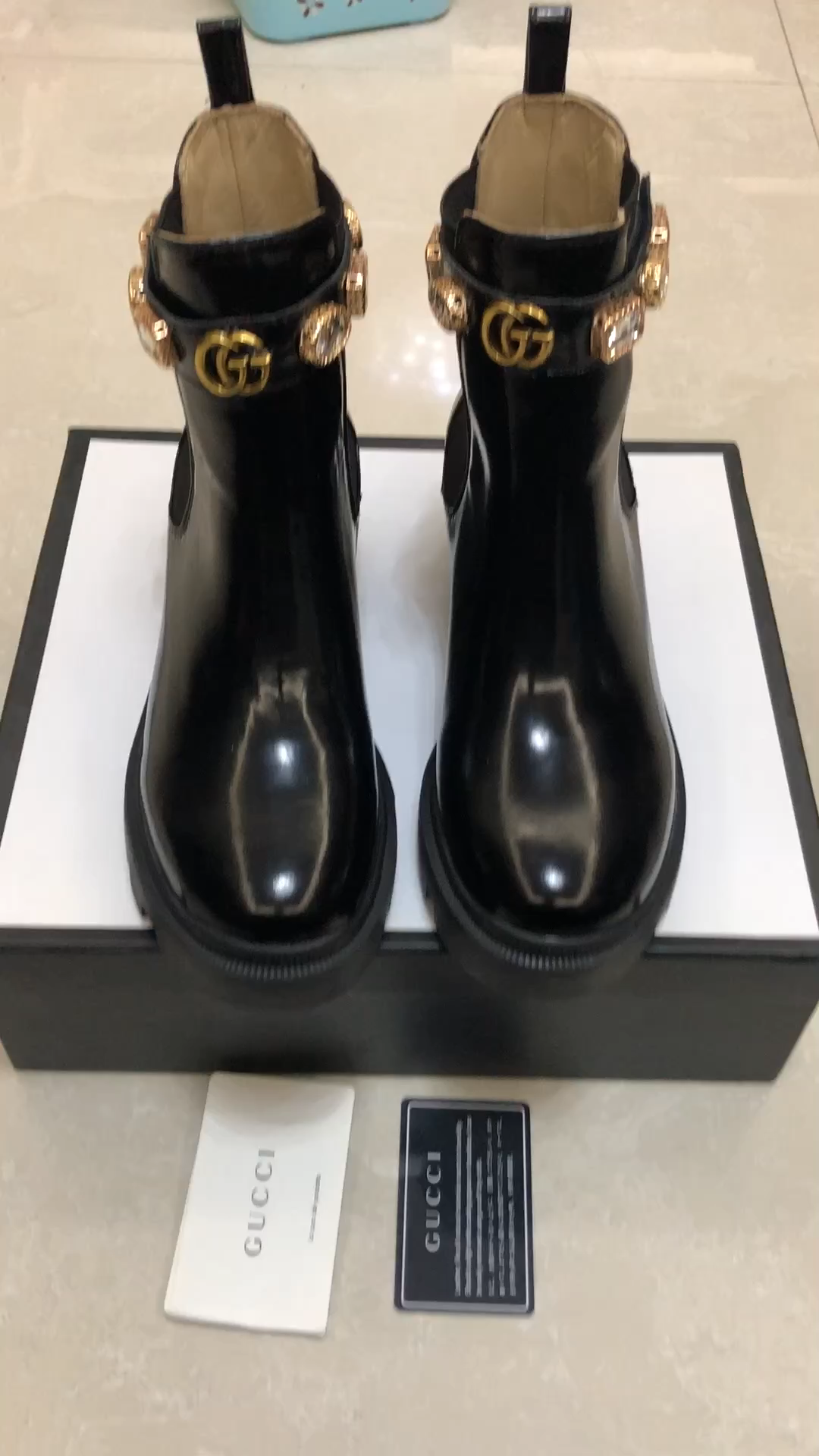 Gucci Boots Leather Ankle Boot With Belt Ankle Belt Boot Boots Gucci Leather In 2020 Gucci Boots Boots Chanel Boots
