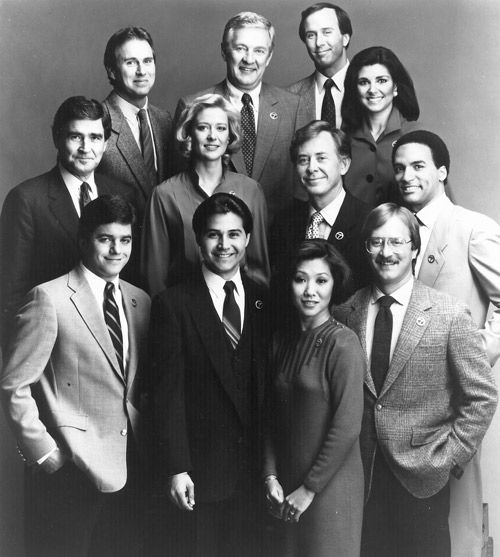 Channel 7 Eyewitness News Team- Vintage Chicago TV. John Daly. Just need a pic of Fahey Flynn.