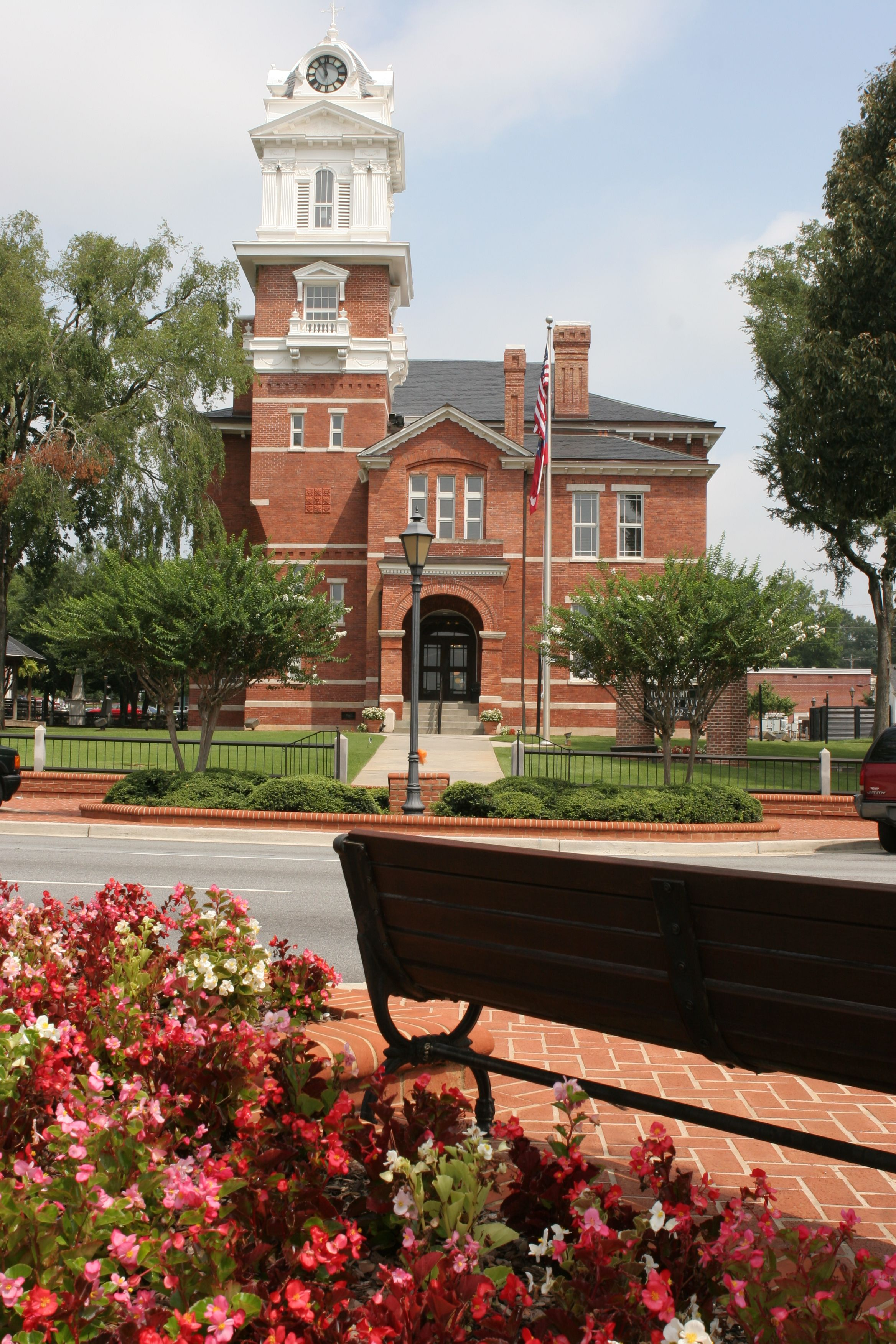Historic Courthouse in Lawrenceville, GA