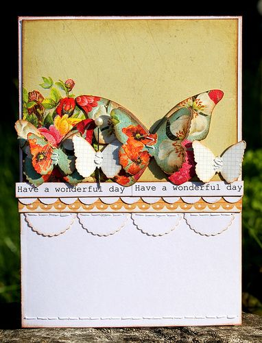 GORgeoUS!  butterflies and flowers and scallops