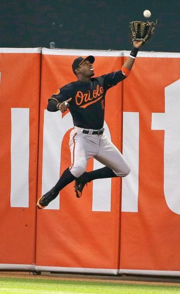 Baltimore Orioles center fielder Adam Jones