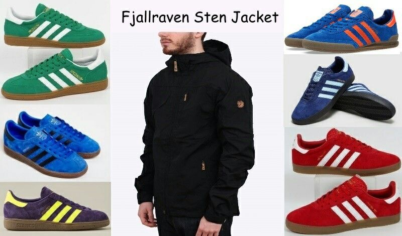 71e097d7ad Terrace wear - Fjallraven Sten jacket teamed up with some new adidas  releases over the past 15 months including Munchens