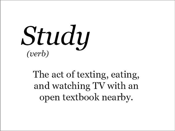 The Real Meaning Of Studying Word Definitions Funny Definition Funny Words