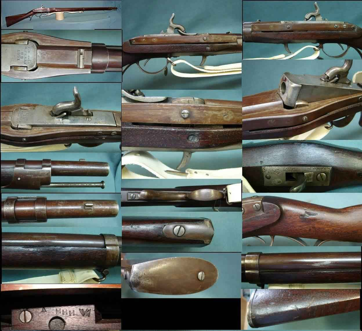 Pin by B  Bivens on Harpers Ferry, Hall's Breechloading Rifle
