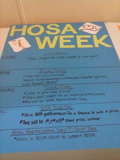 Hosa week 2015-2016   HOSA   Science classroom decorations