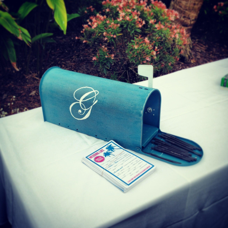Wedding Mailbox Monogram With An Established Date My Wedding