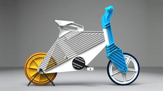 Frii Bicycle propõe negócio sustentável com plástico reciclado - Design Atento