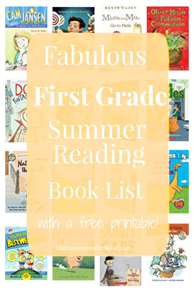What do first-grader need