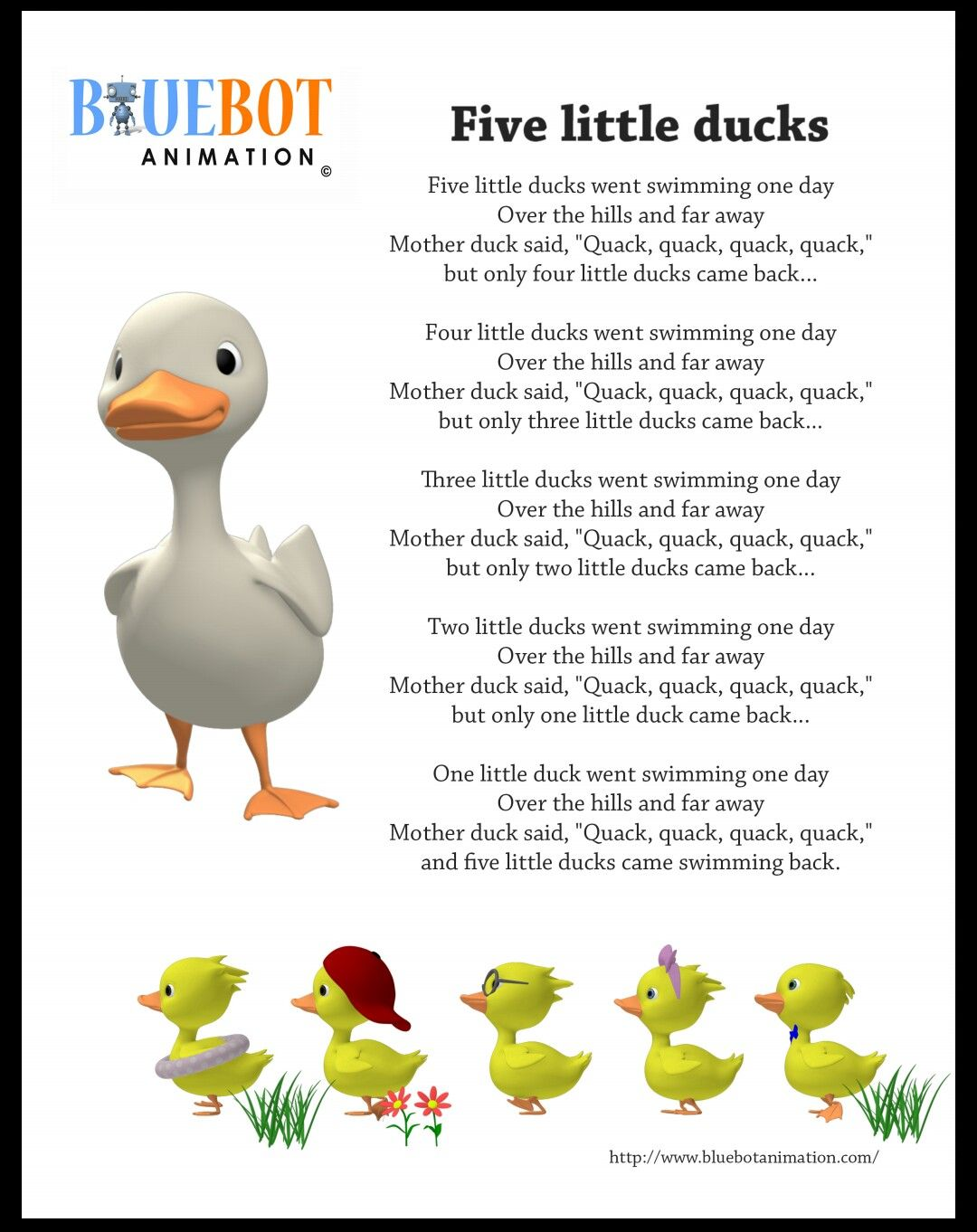 Visit Bluebotanimation For More Nursery Rhythms For Kids