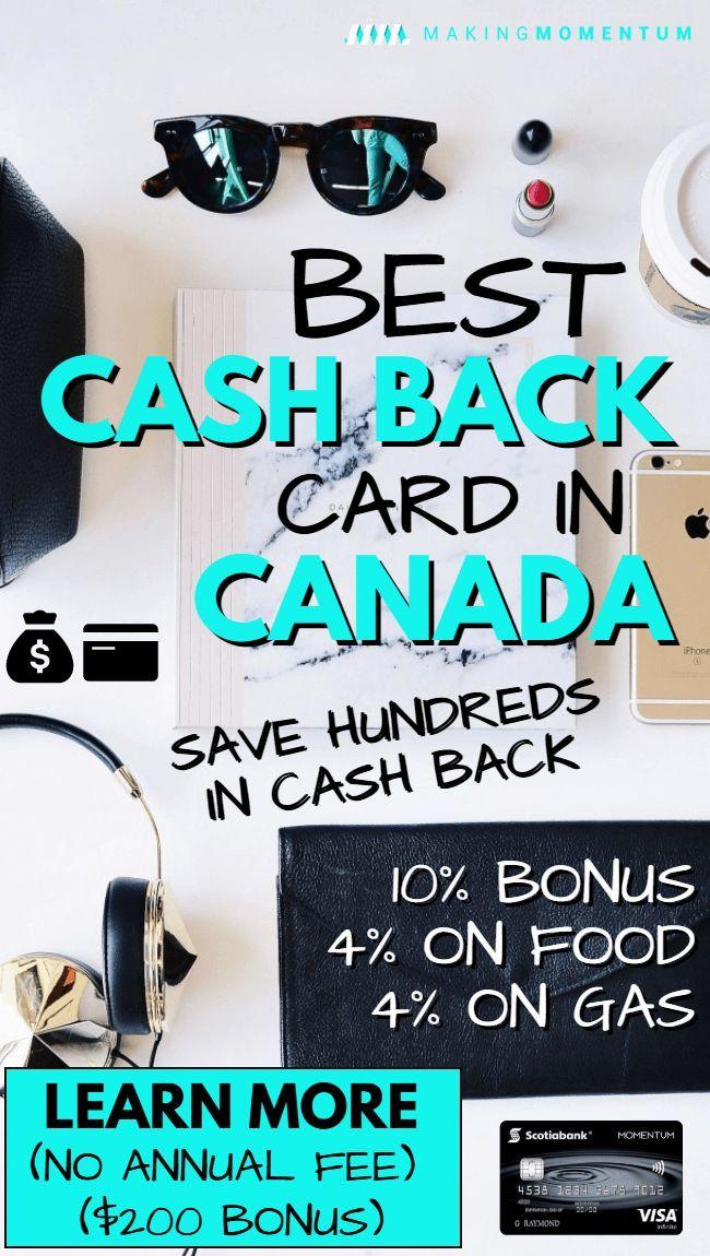 Scotia Momentum Visa Infinite Review (Best Cash Back
