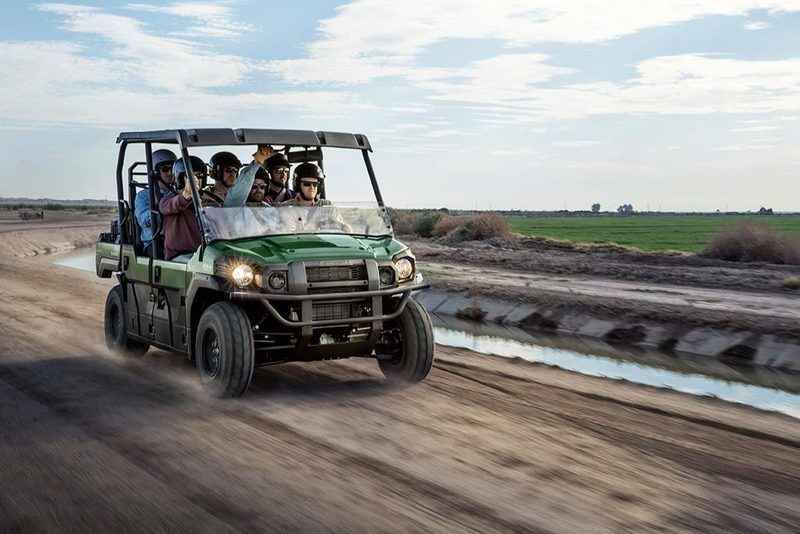 New 2016 Kawasaki Mule Pro-DXT EPS ATVs For Sale in Florida. 2016 Kawasaki Mule Pro-DXT EPS, THE KAWASAKI DIFFERENCE The Mule Pro-DXT EPS is our powerful, most capable, full-size, six-passenger diesel Mule side x side yet. This high-capacity diesel mule not only offers unmatched cargo and passenger versatility but can also haul up to 1,000 lbs. And tow up to one ton. Featuring speed-sensitive EPS that automatically adjusts the amount of steering assist based on vehicle speed Powerful 993cc…