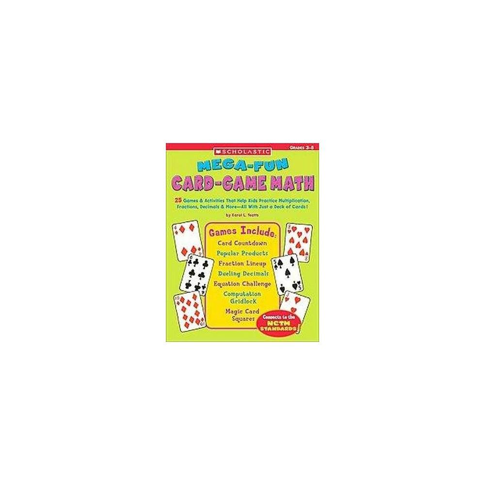 Mega-fun Card-Game Math (Workbook) (Paperback)