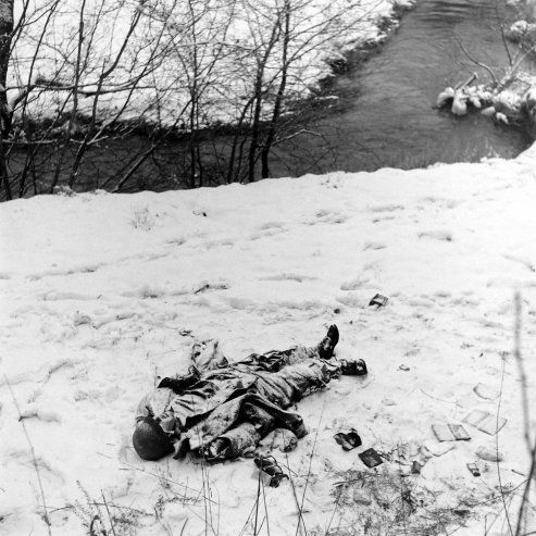 vintage everyday: Rare Images of the Battle of the Bulge - WWII