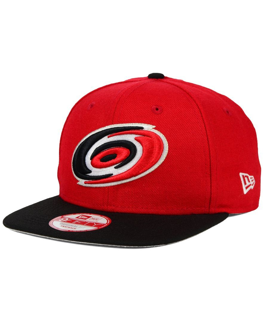 competitive price 16957 2fda1 New Era Carolina Hurricanes Stanley Cup Champ Collection 9FIFTY Snapback Cap