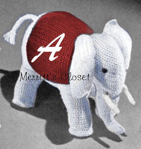 Crochet Amigurumi Elephant | Crochet elephant, Amigurumi elephant ... | 602x570