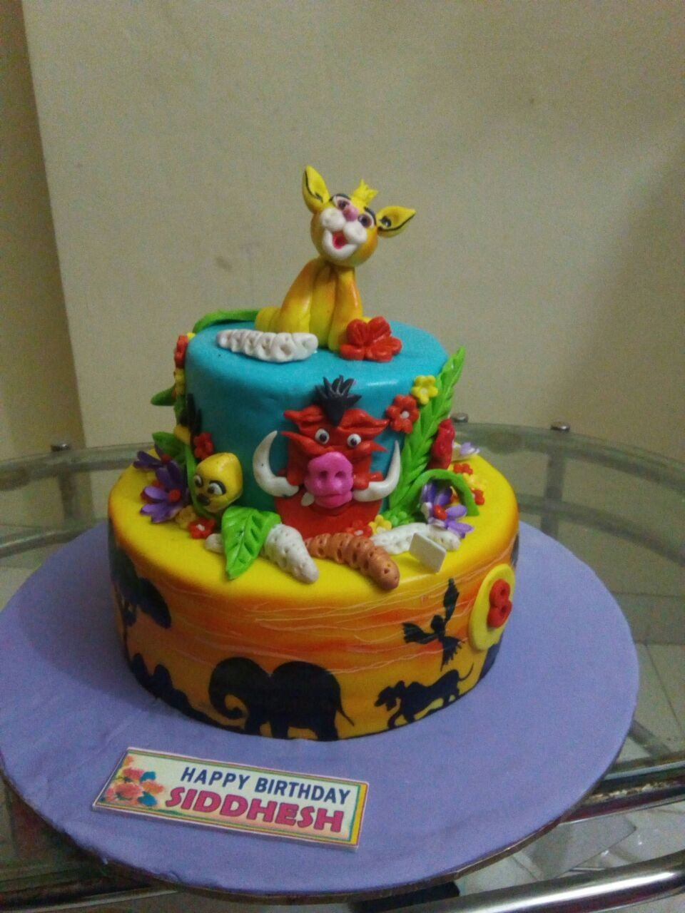 Jungle Theme 3d Cake By Monginisyou Dream It We Make It