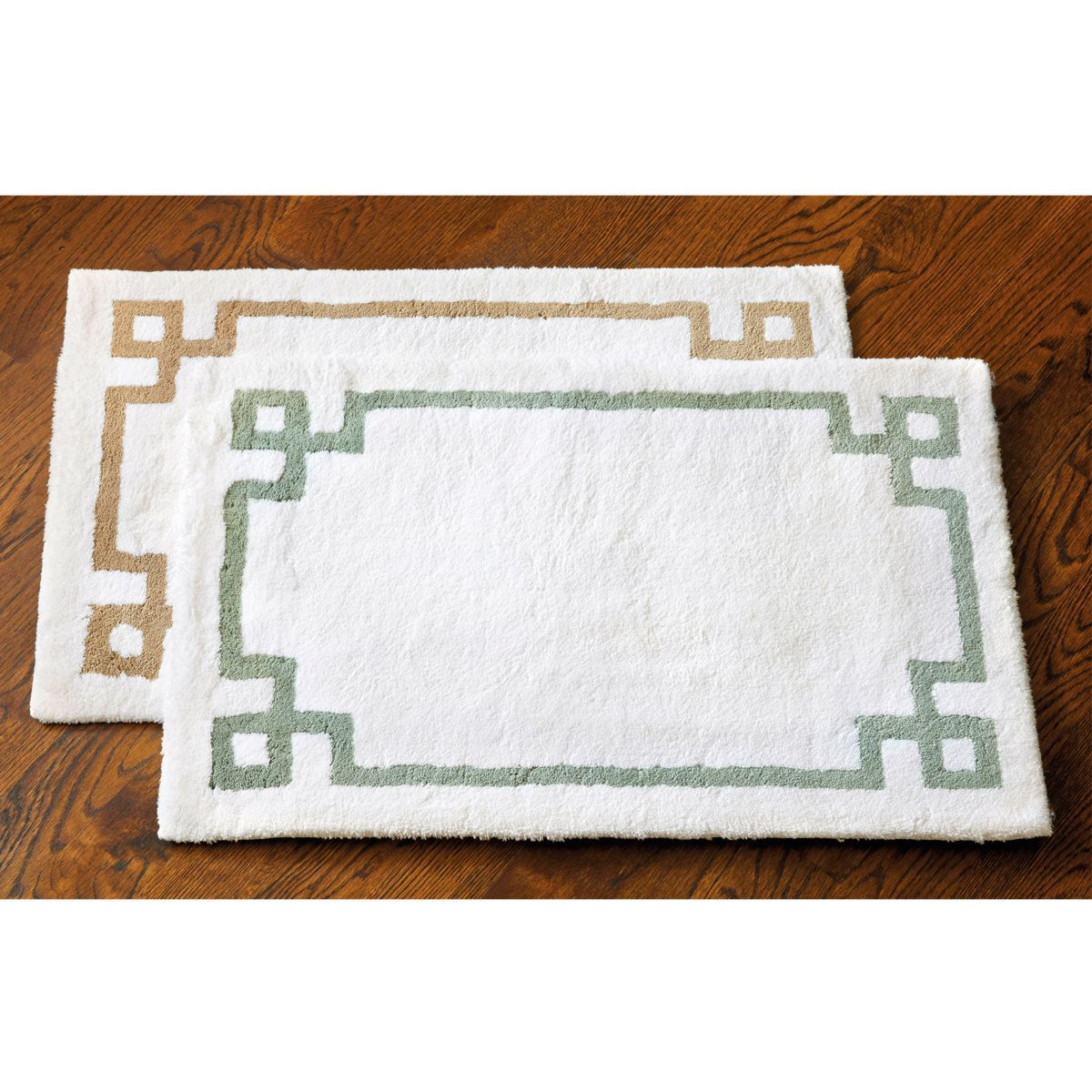 Suzanne Kasler Greek Key Bath Mat | HOME: Furniture & Decor ...