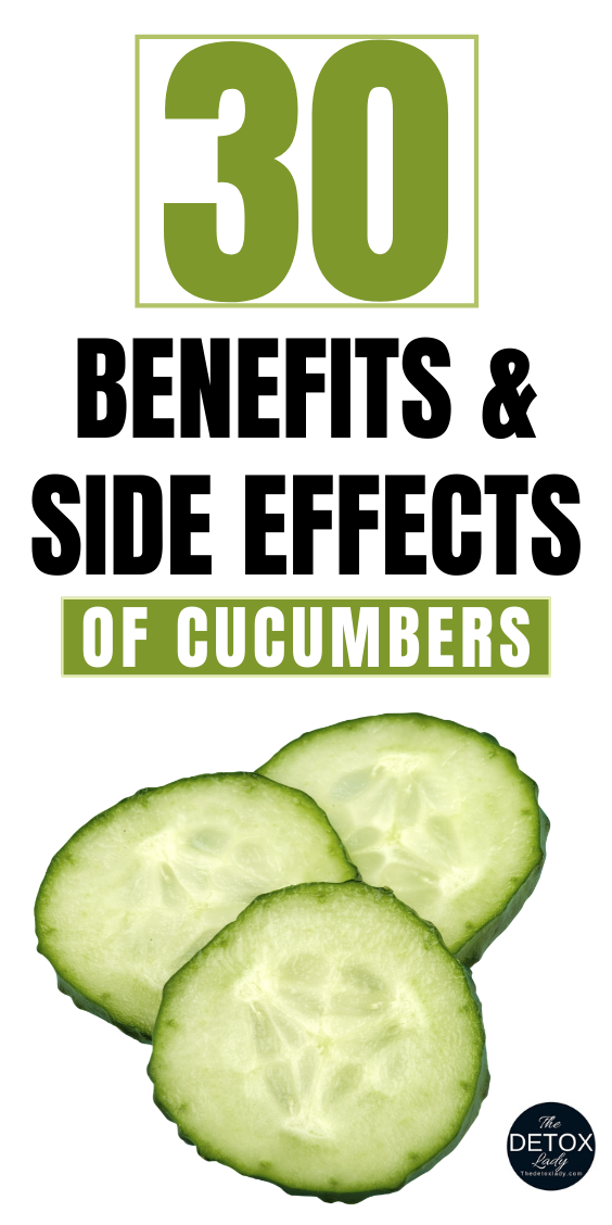 Benefits And Side Effects Of Cucumber - The Detox