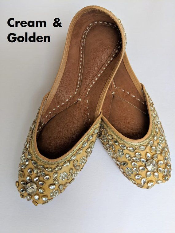 4ad8e3f10de Punjabi Jutti - Indian flat shoes for women