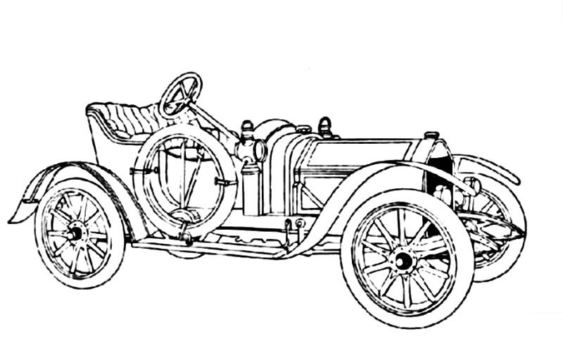 Free a horse drawn carriage coloring pages Projects to Try - best of coloring pages antique cars