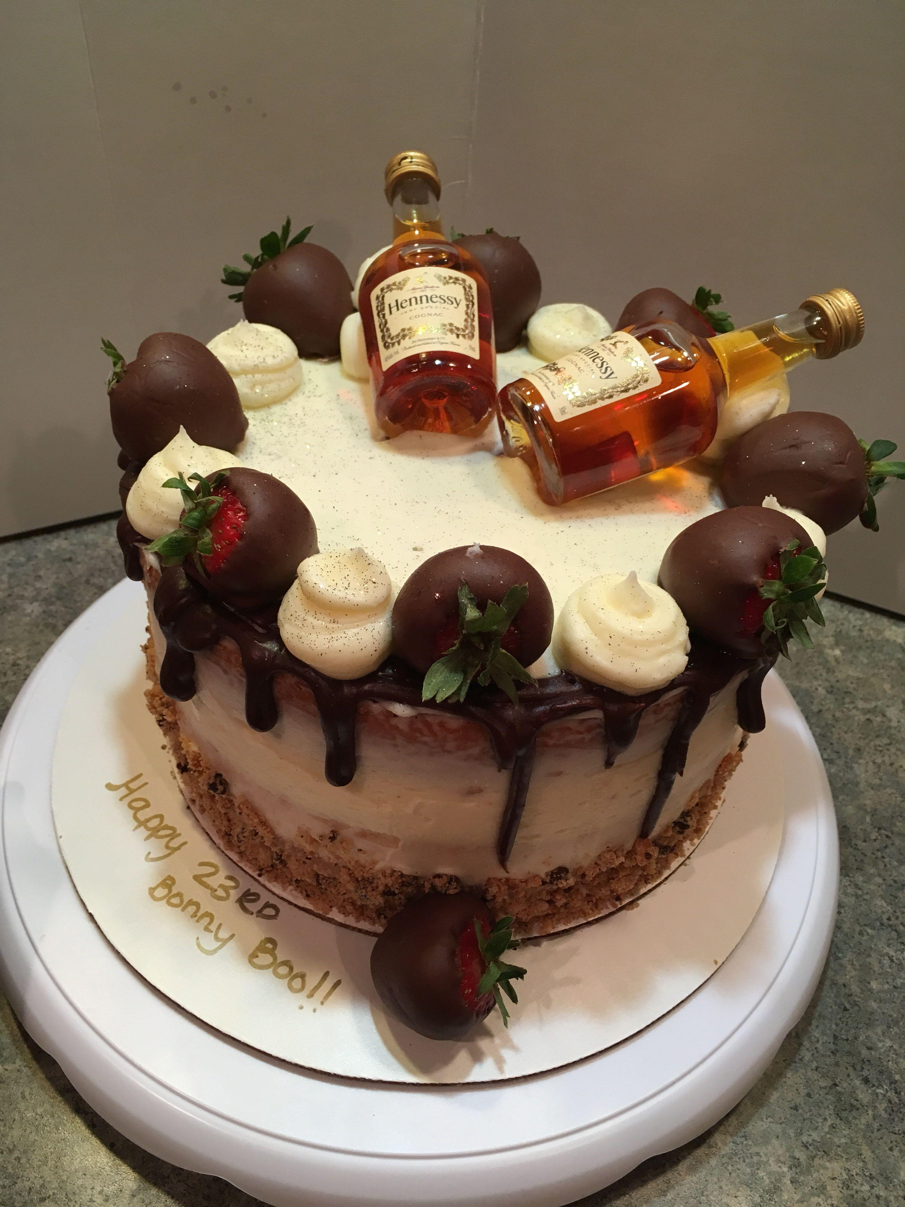 Hennessy Cake Booze Cake Liquor Cake Cake