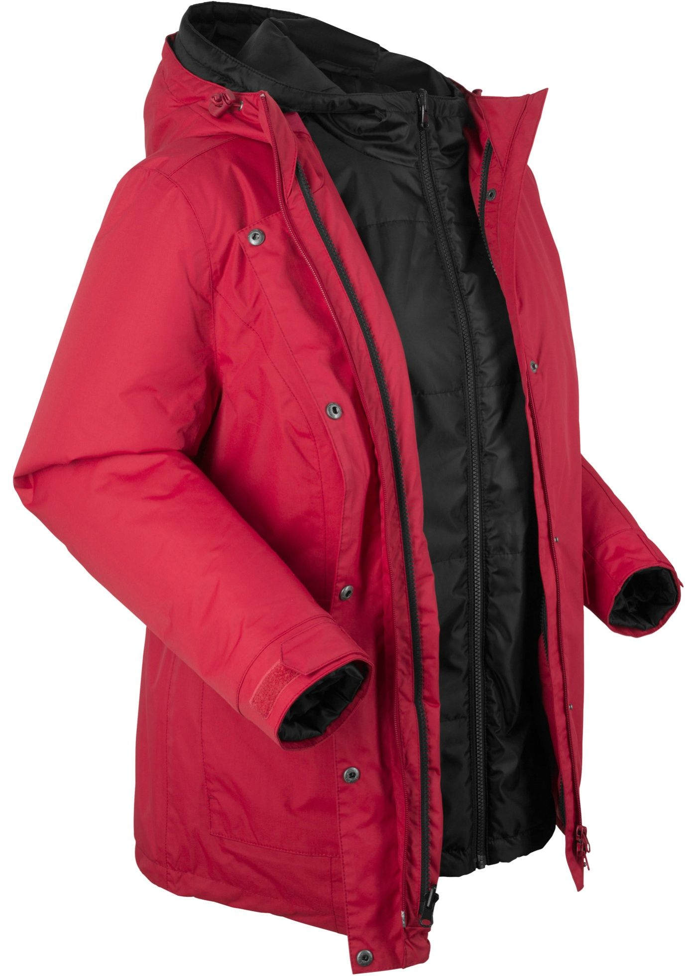 damen 3 in 1 funktions outdoorjacke