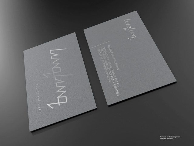 Silver Foil Business Card Template Download Free Design Templates Business Card Mock Up Foil Business Cards Templates Free Design