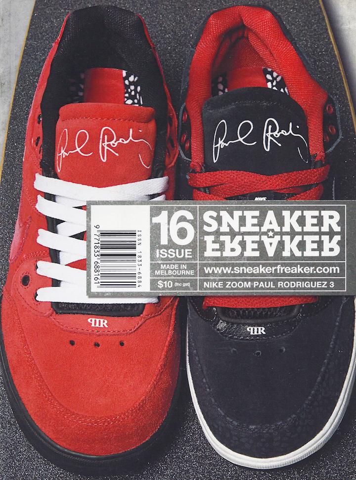 alleanza Piovoso ipotesi  Sneaker Freaker Magazine Issue # 16 Nike Zoom Paul Rodriguez 3 | Sneakers, Nike  zoom, Nike