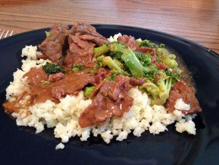 Beef & Broc with Calif rice
