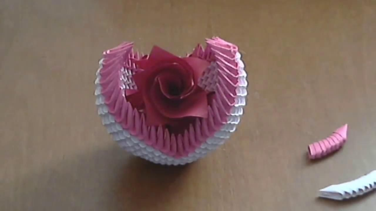 How To Make 3d Origami Fruit Basket  Video Dailymotion