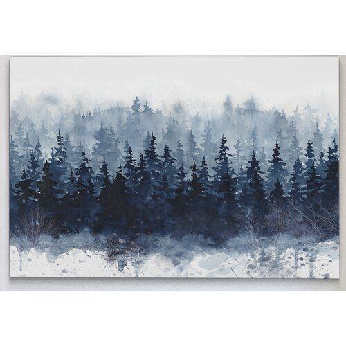 'Indigo Forest' Print & Reviews | Birch Lane #artphotography #darkart