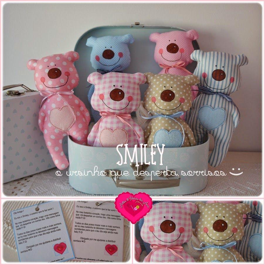 Artes & Ideias da Ana: Smiley :) :) | Dolls, Stuffed Animals and ...