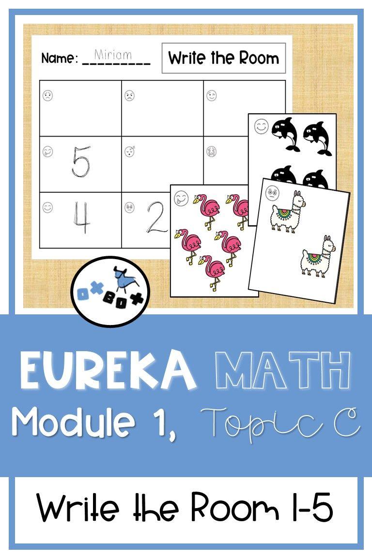 Eureka Math Module 1 Topic C Center Activity Write the
