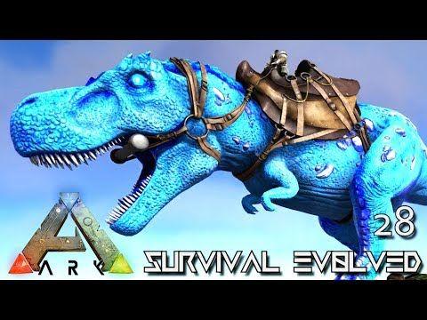 cool ARK: SURVIVAL EVOLVED - NEW CELESTIAL REX & LAVA GOLEM